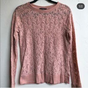Flower Print Sweater